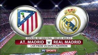 Hasil Pertandingan Real Madrid Vs Atletico Madrid Final