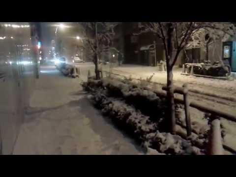 2014 . 2 . 14東京大雪の様子(Tokyo heavy snowfall )