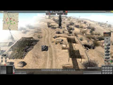 Men of War Assault Squad 2 Online Battle #3 (HD)