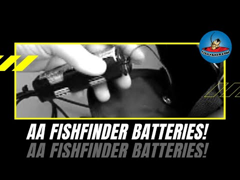 Kayak fishing aa battery unit episode 27 youtube for Battery powered fish finder