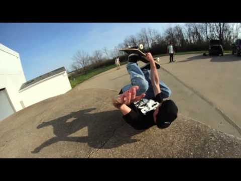 Hot New Skateboarding Trick! The Roly Poly!