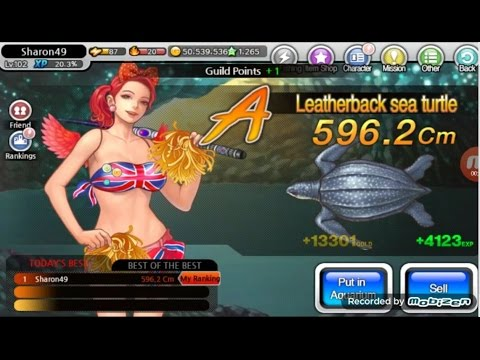 FISHING SUPERSTARS: HOW TO CATCH LEATHERBACK SEA TURTLE MERMAID CAVE [24^01^2017]