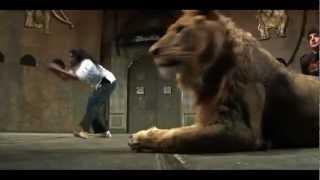 นักแสดงถูกสิงโตกัด