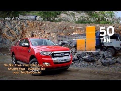 Sức kéo không tưởng của Ford Ranger