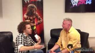 Sam Roberts & The Ultimate Warrior On Vince McMahon, 1