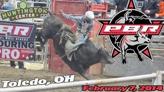 Professional Bull Riders (PBR) in Toledo, OH - February 7, 2014