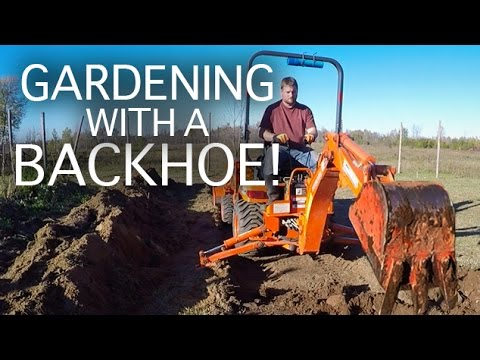GGC - 67 - Expanding Our Permaculture Garden... With A Backhoe!