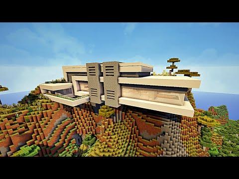 Minecraft maison moderne avec Xroach ! #1