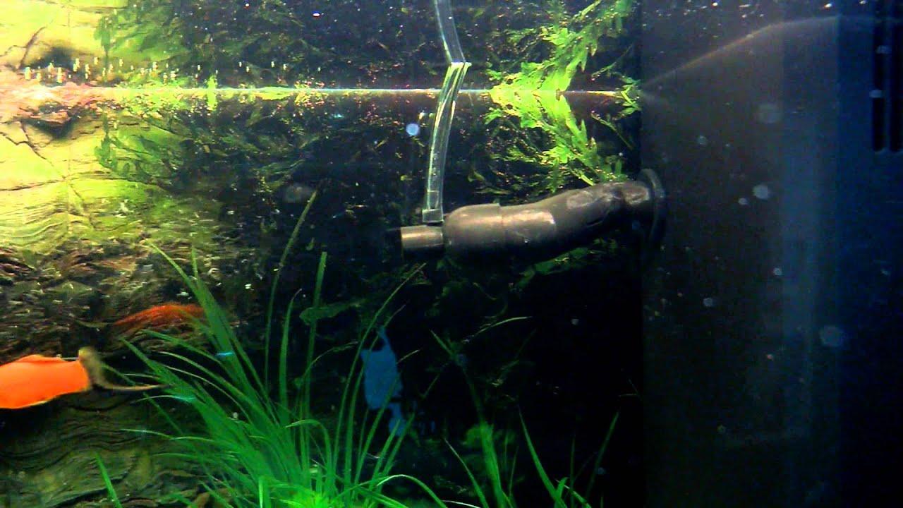 Диффузор для аквариума своими руками