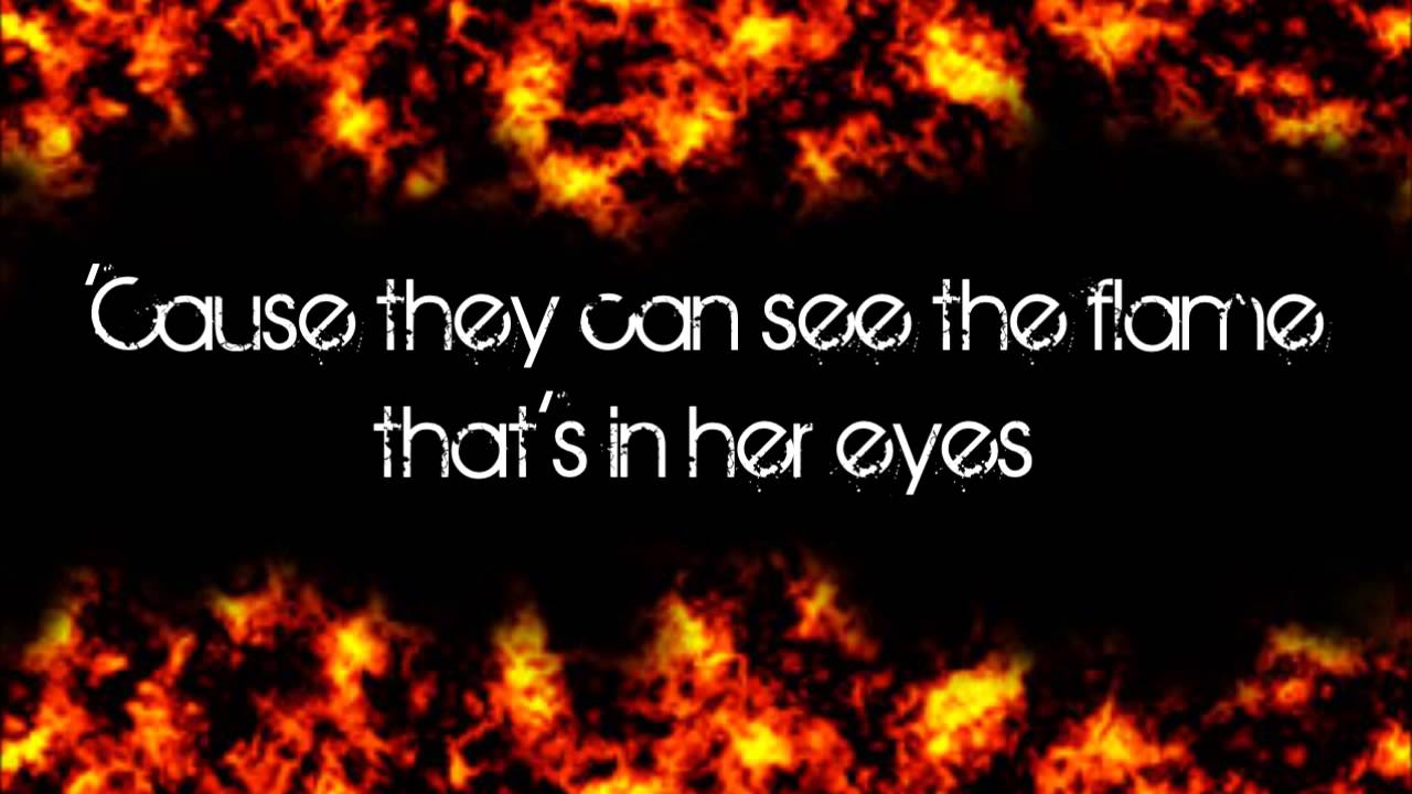 Glee girl on fire lyrics hd youtube