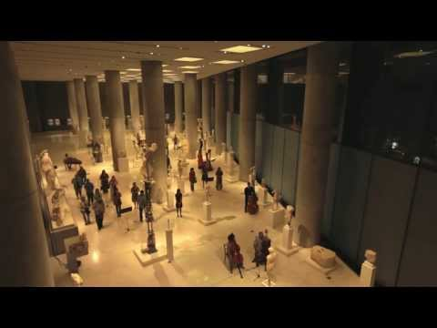 This video features footage from the event held at the Acropolis Museum in Athens, celebrating World Tourism Day September 27, 2012, organised by the Ministry of Tourism, with a live performance by The Orchestra of Colours at the Archaic Gallery room.  http://www.visitgreece.gr