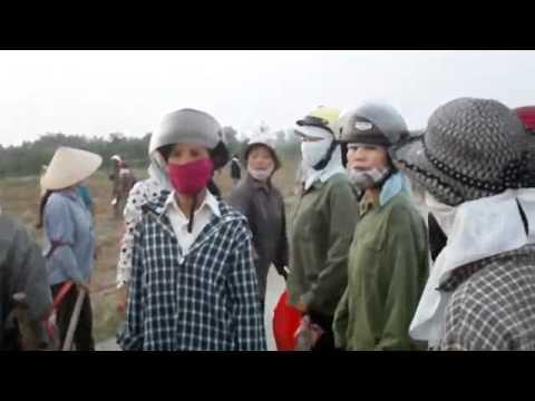 Full - Cưỡng chế đất Văn Giang: Hàng ngàn nông dân
