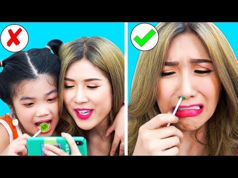 23 BEST PRANKS AND FUNNY TRICKS   Funny Pranks! Prank Wars! Family Fun Playtime by T-FUN