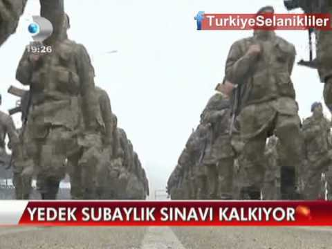 Yedek Subaylk Snav Kalkyor ! Kanal D Haber 18.04.2013