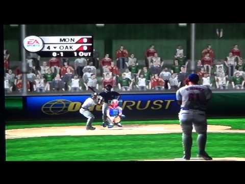 MVP BASEBALL 2004 MONTREAL EXPOS VS OAKLAND ATHLETICS PART 4