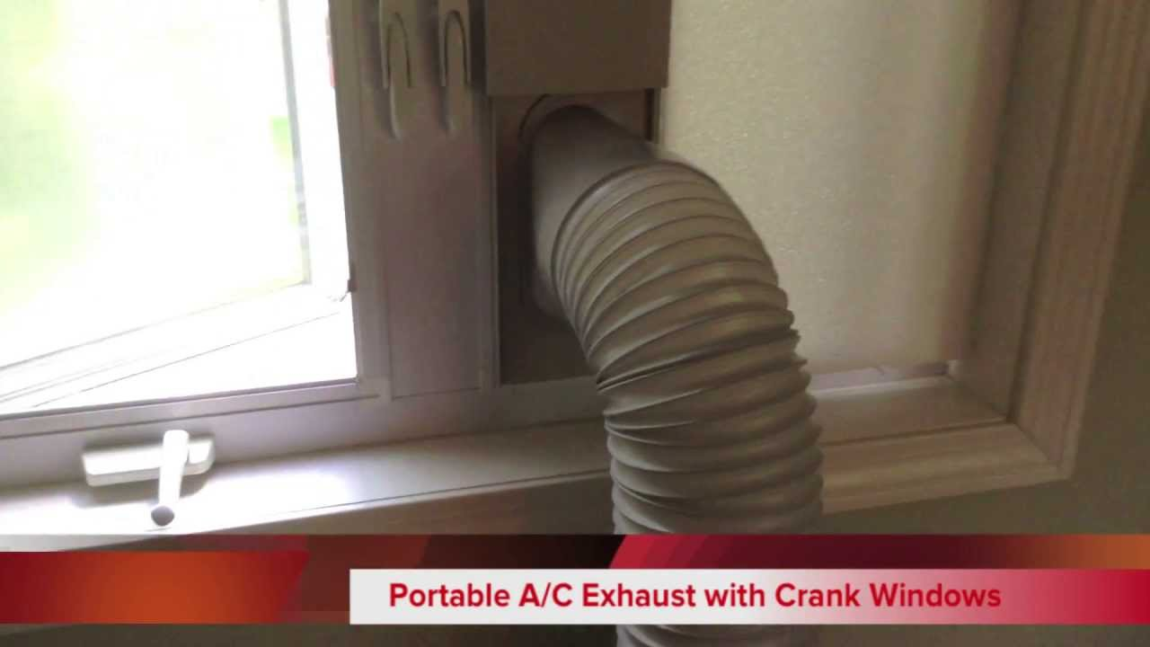 Portable Air Conditioner With Crank Casement Windows