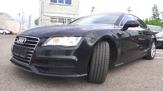 2012 Audi A7 Sportback. Start Up, Engine, and In Depth Tour.. MegaRetr