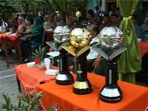 Penyambutan Piala Adiwiyata Mandiri SDN Kandangan 3 Surabaya