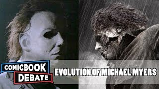 Evolution of Michael Myers in Movies & TV in 6 Minutes (2017)