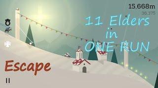 Alto's adventure :11 ELDERS in one run!!!! And soundtrack