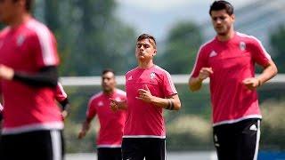 La Juventus prepara la finale di TIM Cup con il Milan - Juve gear up for Cup final