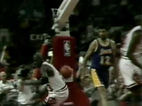 1991 NBA Finals: Lakers at Bulls, Gm 1 part 3/13