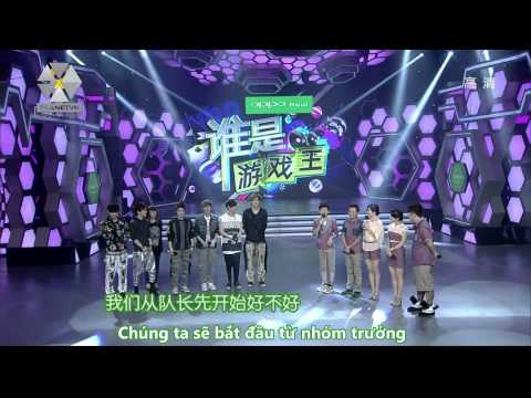 [Vietsub][HD] 120609 Happy Camp with EXO-M ( Part 1 ) {EXOPLANETVN}