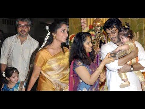 Ajith's Daughter Anoushka's Character is like Thala says Shalini