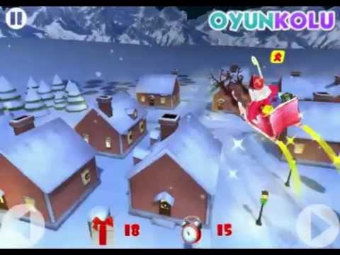 Noel Baba Hediye Dağıtma Oyunu Nasıl Oynanır