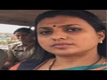 YSRCP MLA Roja Selfie speech video in running Car goes vir..