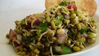 Sprouted Mung Bhel..