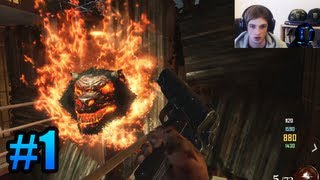 """SECRET CHALLENGE!"" - Zombies w/ Ali-A #1 - Black Ops 2 ""Mob of the Dead"" Gameplay (Cell Block)"