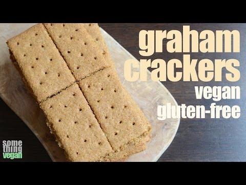 graham crackers (vegan & gluten-free) Something Vegan