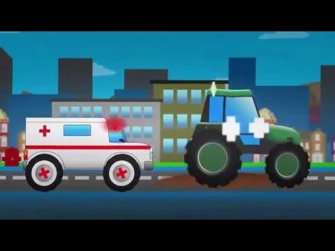 Tổng hợp các Video hay nhất  Oto Hoạt Hình cho bé   xe Cứu Hỏa New 2016