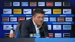 Inter, Mazzarri: 'Tifosi liberi di fischiare'
