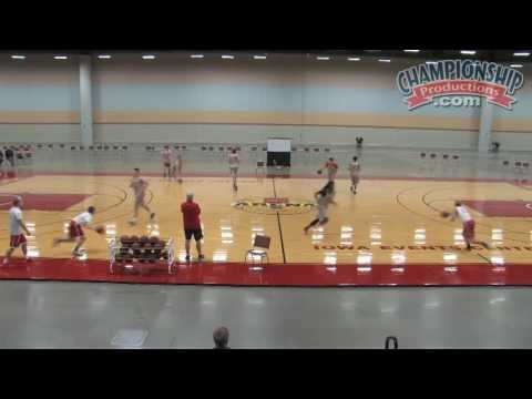 Drill to Improve Passing and Footwork!