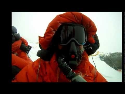 Mount Everest summit 2012 HD