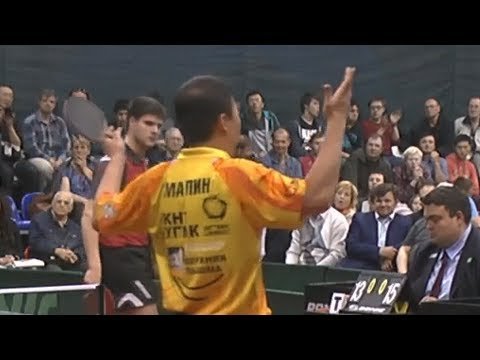 BEST MOMENTS of TABLE TENNIS Russian Club Championships