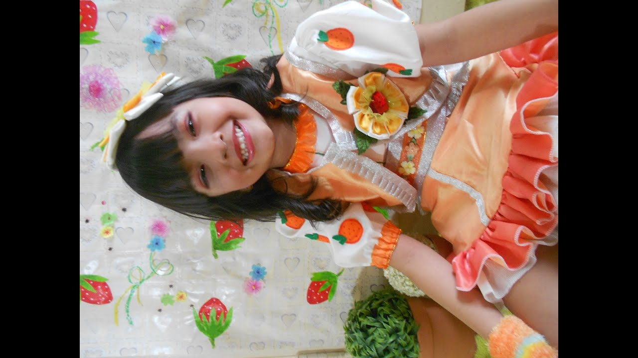 how to look like orange blossom strawberry shortcake