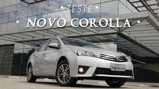 Toyota Corolla 2015 Teste WebMotors