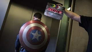 Visual effect Captain America