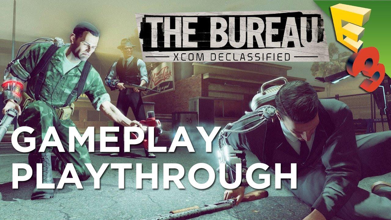The bureau xcom declassified new gameplay playthrough for Bureau 13 gameplay