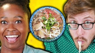 Americans Try Vietnamese Noodles