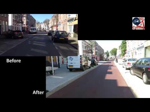 Koekoekstraat, Utrecht (Netherlands) before and after