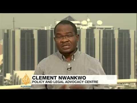 Nigeria president suspends central bank chief