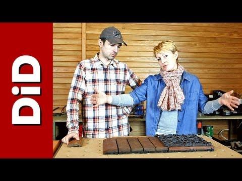 Niewidoczny system montażu deski tarasowej