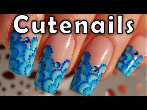 One stroke for beginners: 3 methods to succeed by cute nails