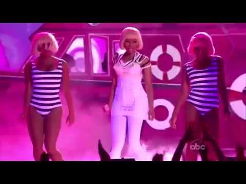 Billboard Music Awards 2011 Nicki Minaj Feat Britney Spears Super Bass+Til The World Ends Remix HD 1