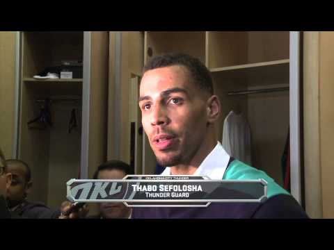 Thunder Video: Thunder vs Clippers Postgame (2/23/14)