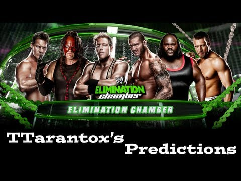 TTarantox's WWE Elimination Chamber 2013 Predictions WWE '13 Gameplay
